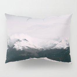 Mountain relief Alps Pillow Sham