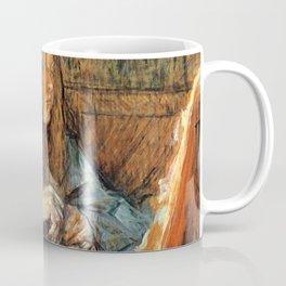 "Henri de Toulouse-Lautrec ""Madame Poupoule at Her Dressing Table"" Coffee Mug"