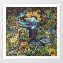 Night Garden Art Print