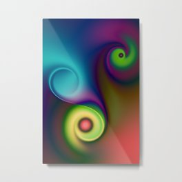 the sound of colour -7- Metal Print