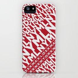 ★ MLNY ★ SPRING 2012 ★ MEN'S ACCESSORIES ★ iPhone Case