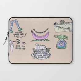 Self Credit Credits Laptop Sleeve