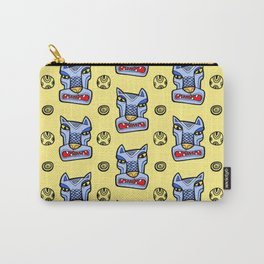 Blue totem wolf Carry-All Pouch