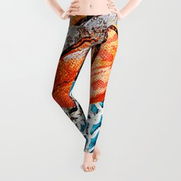 Modern basketball art 3 Leggings
