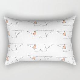 true story by Laura Pizzcalaluna  Rectangular Pillow