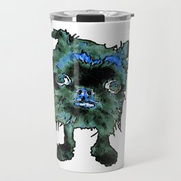 Lugga The Friendly Hairball Monster For Boos Travel Mug