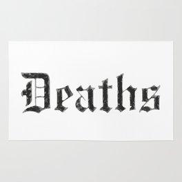 Deaths Muertes смертей Todesfälle Morts Rug