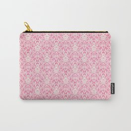 Pink victorian classic pattern Carry-All Pouch