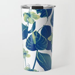 pure blue nature Travel Mug