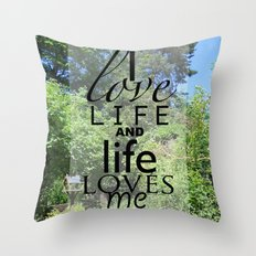 Life is just Throw Pillow
