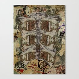 Forget Breathing Canvas Print