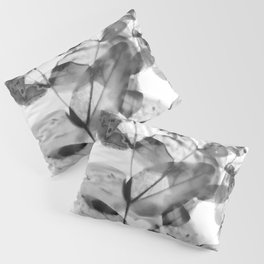 Ghostly Blooms Pillow Sham
