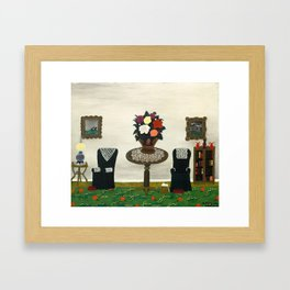Victorian Interior II by Horace Pippin, 1945 Framed Art Print
