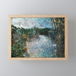 Riverwalking Framed Mini Art Print