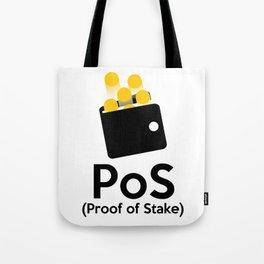 PoS - Proof of Stake Tote Bag
