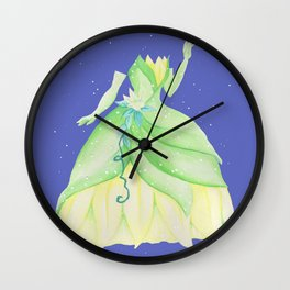Tiana Dress Wall Clock