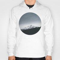 oregon Hoodies featuring Mt. Hood x Oregon by Leah Flores