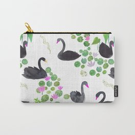 Black Swan Day Pattern Play Carry-All Pouch