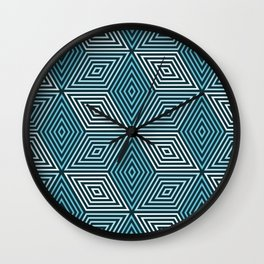 Op Art 37 Wall Clock