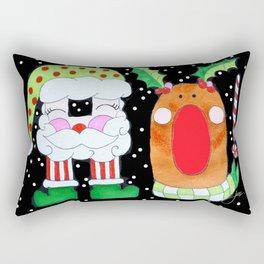 HO! Rectangular Pillow