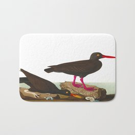 White-legged Oyster-catcher, or Slender-billed Oyster-catcher Bird Bath Mat