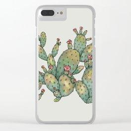 Desert Glitter Clear iPhone Case