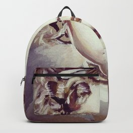 Cute Hollywood Golden Era Painting Backpack