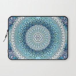 Teal Tapestry Mandala Laptop Sleeve