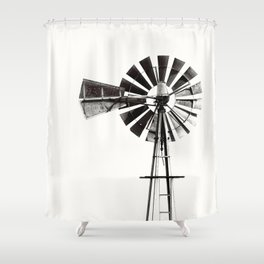 WINDMILL #3 Shower Curtain
