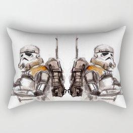 Sand Trooper Rectangular Pillow