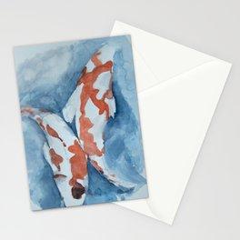 koi garden Stationery Cards