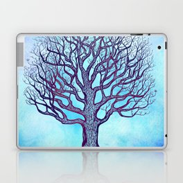 Tree of Life Blue Zen Design Laptop & iPad Skin