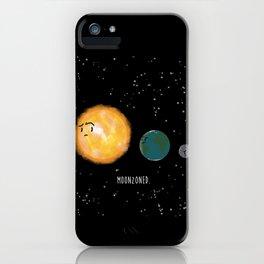 Moonzoned iPhone Case