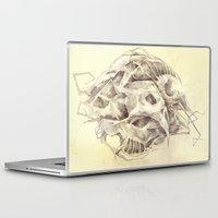 bones Laptop & iPad Skins featuring Bones by Vilebedeva