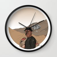 finn Wall Clocks featuring Finn by jorgeink