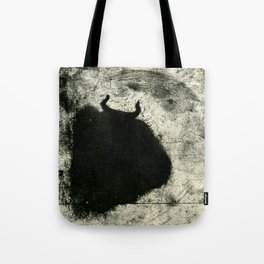 Minotaur in Hiding Tote Bag