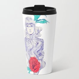Flowery 02 Travel Mug