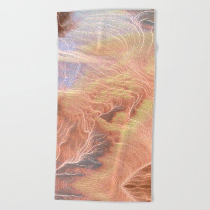 Wild is the Wind Beach Towel