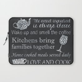 This Kitchen is Seasoned With Love Laptop Sleeve