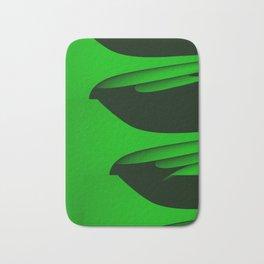 Flight - green version Bath Mat
