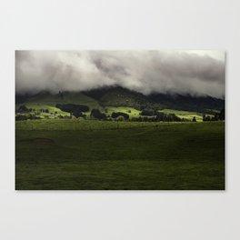 New Zealand Hills  Canvas Print