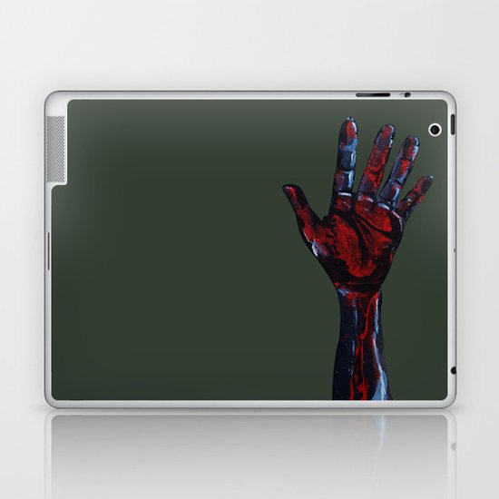 Hand of Death Laptop & iPad Skin