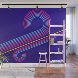 Old School Abstract Wall Mural
