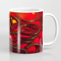 hook Mugs featuring Hook Eye by Gary Lee Hutchings