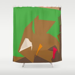 Mistakes away Shower Curtain