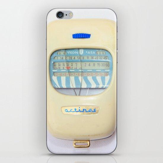vintage exposure meter iPhone Skin