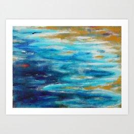 Sea Lullaby Art Print