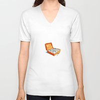 greece V-neck T-shirts featuring Greece by Shahar Kober