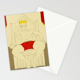 Ye Olde Striptease Illustrated: Arthur Stationery Cards