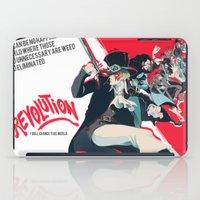 revolution iPad Cases featuring Revolution! by yamineftis